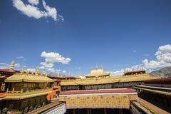 Temple antique de jokhang Photo libre de droits