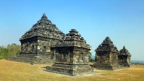 Temple antique de l'Indonésie Photographie stock libre de droits