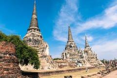 Temple antique de la Thaïlande Images stock