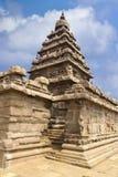 Temple antique de rivage Photos stock