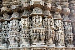 Temple antique de Sun chez Ranakpur Image stock