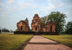 Temple antique en Thaïlande Image libre de droits