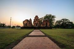 Temple antique en Thaïlande Photographie stock