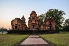 Temple antique en Thaïlande Photographie stock libre de droits
