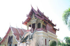 Temple antique en Thaïlande Images stock