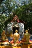 Temple antique en Thaïlande du nord photo stock