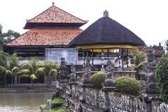 Temple antique intérieur sur Bali, Indonésie photographie stock libre de droits