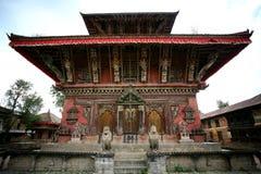 Temple antique Népal Photographie stock