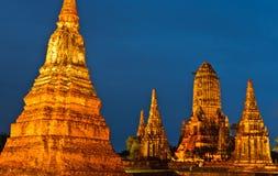 Temple antique thaï photographie stock libre de droits