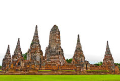 Temple antique thaï images libres de droits