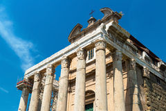 The Temple of Antoninus and Faustina in Roman Forum, Rome Royalty Free Stock Photography