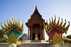 Temple in Ao Noi Royalty Free Stock Image