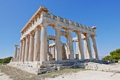 Temple of Aphaea Stock Images