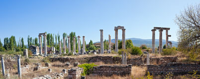 Temple of Aphrodite Royalty Free Stock Photography