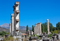 Temple of Aphrodite Royalty Free Stock Images