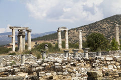 The temple of Aphrodite Stock Images