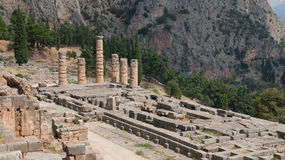 Temple of Apollo Royalty Free Stock Photos