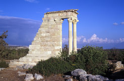 The Temple of Apollo Stock Images