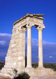 The Temple of Apollo Stock Image