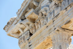 Temple of Apollo. Ancient ruins in Side. Royalty Free Stock Photos