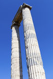 Temple of Apollo in antique city of Didyma Royalty Free Stock Image
