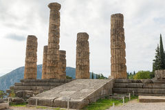 Temple of Apollo, Delphi Stock Image