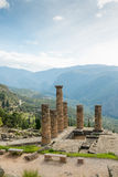 Temple of Apollo, Delphi Royalty Free Stock Image