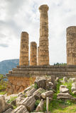 Temple of Apollo, Delphi Stock Photos