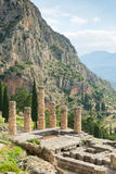 Temple of Apollo, Delphi Royalty Free Stock Photography