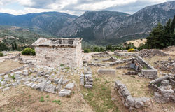 Temple of Apollo at Delphi Royalty Free Stock Image