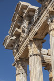 Temple of Apollo detail Stock Images