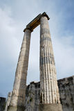 Temple of Apollo in Didim Royalty Free Stock Images