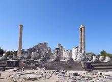 Temple of Apollo Didim Stock Image