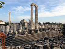 The Temple Of Apollo in Didim (Turkey) Royalty Free Stock Photos