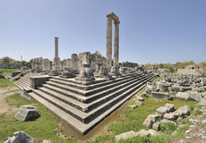Temple of Apollo at Didyma Royalty Free Stock Photos