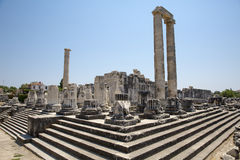 Temple of Apollo in Didyma Royalty Free Stock Image