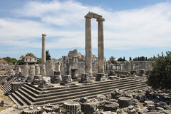 The Temple of Apollo Royalty Free Stock Photos