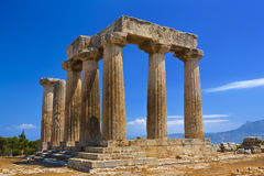 Temple of Apollo Stock Images