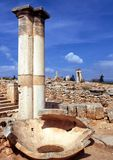 Temple of Apollo, Kourion. Royalty Free Stock Images