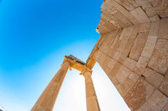 Temple of Apollo. Limassol District. Cyprus Stock Photography