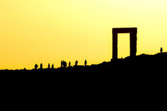 Temple of Apollo on Naxos Royalty Free Stock Images