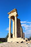Temple of Apollo near Limassol, Cyprus Royalty Free Stock Images