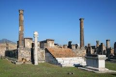 Temple of Apollo, Pompei Royalty Free Stock Photography
