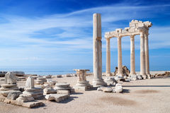 Temple of Apollo ruins Stock Photos