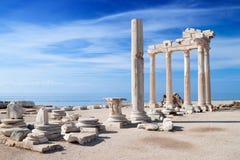 Temple of Apollo ruins Stock Photos