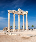 Temple of Apollo ruins Royalty Free Stock Photos