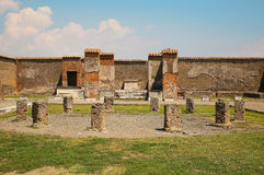 Temple of Apollo. The Ruins of Pompeii, Italy Stock Images