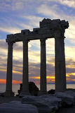 Temple of Apollo, Side town, Turkey Stock Photos