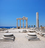 The Temple of Apollo, Side, Turkey Stock Photo