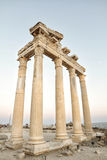 Temple Of Apollo, Side, Turkey Stock Photos